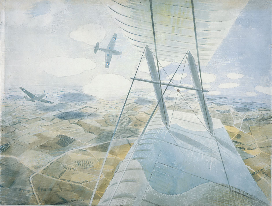 Hurricane in Flight Ravilious.jpg