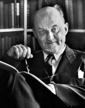 Reinhold Niebuhr, 1956
