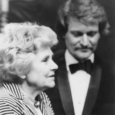 Elizabeth Bishop and John Ashbery, University of Oklahoma, 1976