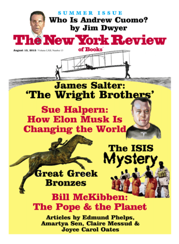 Image of the August 13, 2015 issue cover.