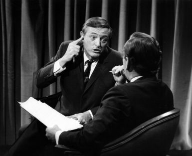 William F. Buckley and Gore Vidal on ABC, November 5, 1968