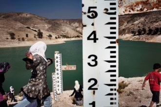 Ziglab Lake, Jordan, 2009