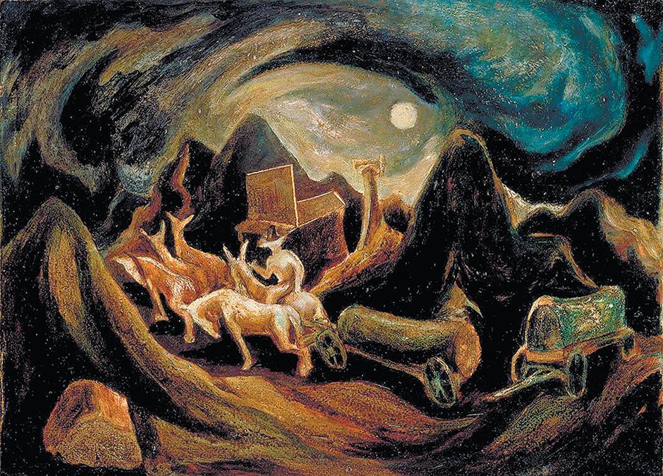 Jackson Pollock: Going Wes, 1934–1935