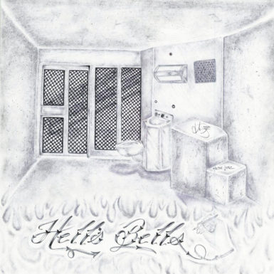 Hell's Bells, by Hector Lopez, who was in solitary confinement at California's Pelican Bay State Prison