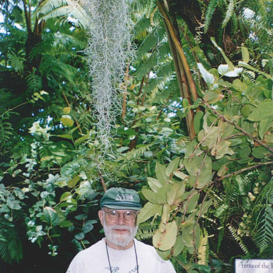 Oliver Sacks, New York Botanical Garden