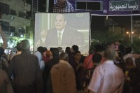 Egypt's former army chief, Abdel Fattah al-Sisi, during his campaign for president, Cairo, May 5, 2014