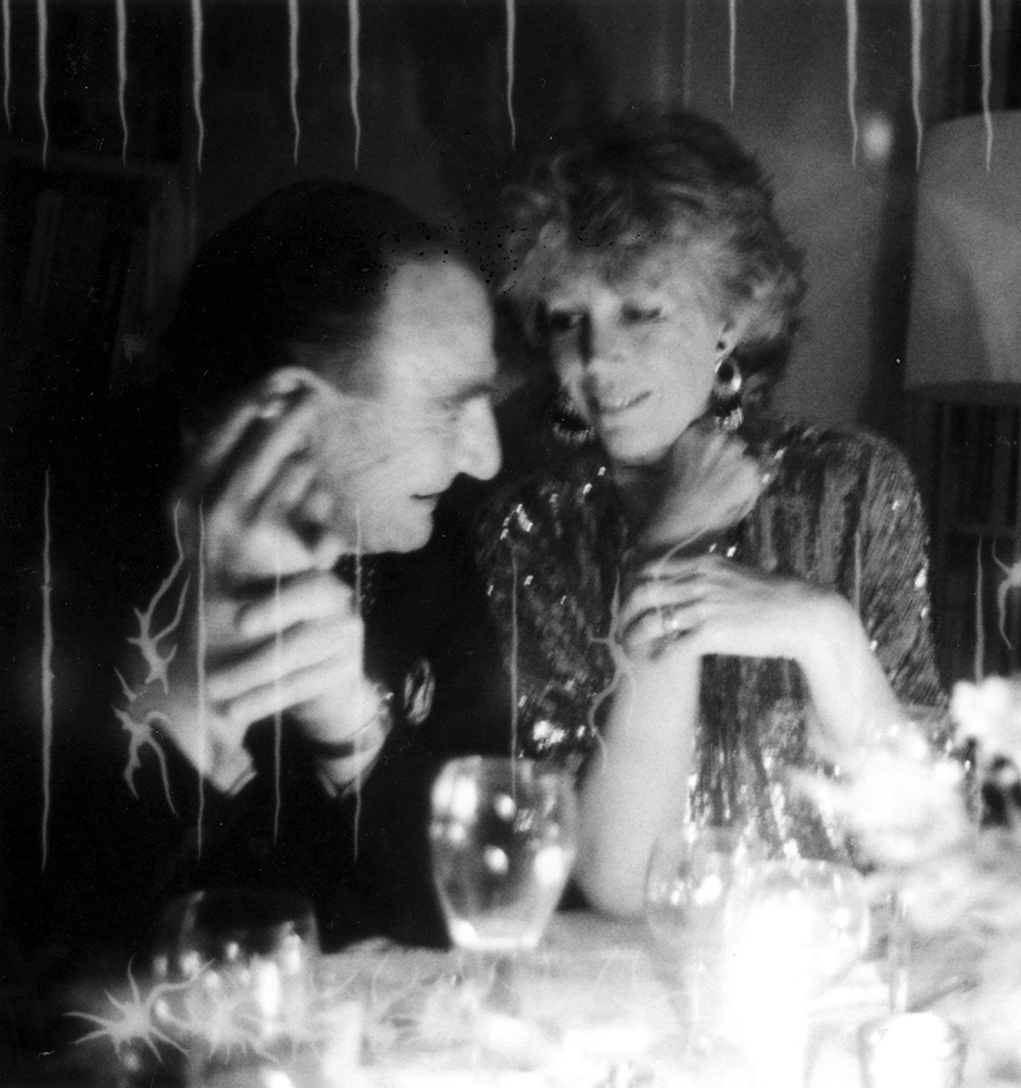 Joseph Alsop and Alexandra Schlesinger, New York City, early 1980s