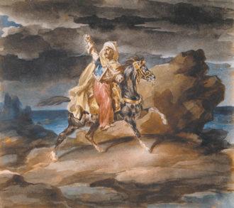 Théodore Géricault: The Giaour, circa 1822–1823