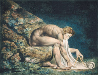William Blake: Newton, 1795–circa 1805