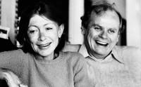 Joan Didion and John Gregory Dunne, Malibu, California, 1977