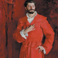 John Singer Sargent: Dr. Pozzi at Home, 1881