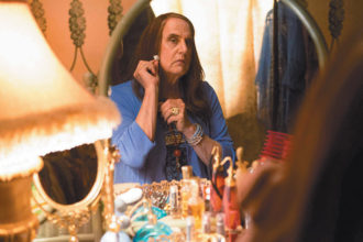 Jeffrey Tambor as the transgender character Maura in Transparent, an Amazon Original series that can be watched only on the Internet