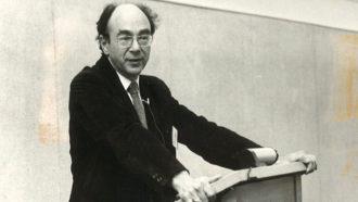 Stanley Hoffmann speaking on European-American Relations in 1984