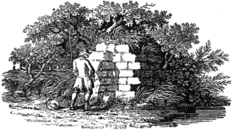 A 'tail-piece' by Thomas Bewick, from his History of British Birds, 1797