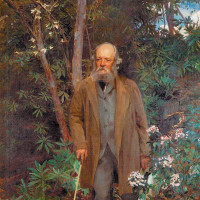 Frederick Law Olmsted; portrait by John Singer Sargent, 1895