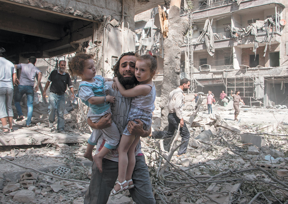 In The Syrian Deadlands