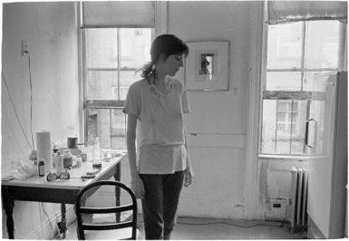 Patti Smith, New York City, early 1970s; photograph by Judy Linn