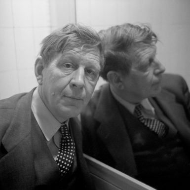 W.H. Auden, 1953; photograph by Cecil Beaton