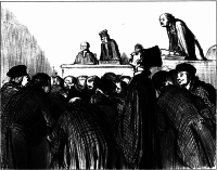 Lithograph by Honoré Daumier, 1847
