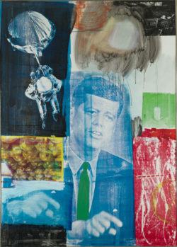 Robert Rauschenberg: <em>Retroactive I</em>, 1963