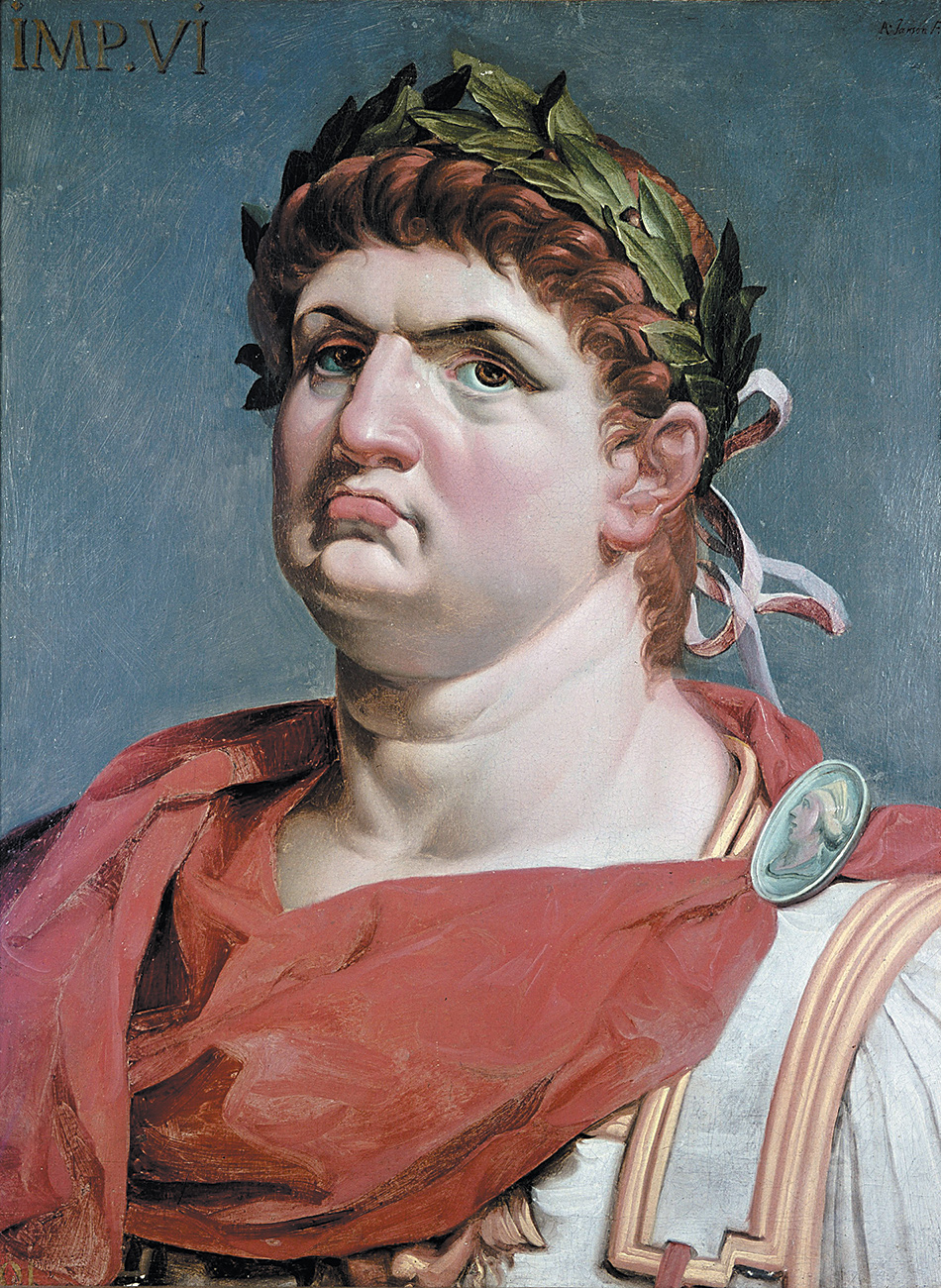 Emperor Nero; painting by Abraham Janssens, 1618
