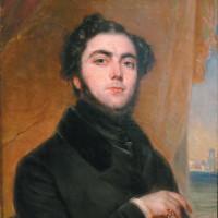 Eugène Sue; portrait by François Gabriel Guillaume Lépaulle, 1837