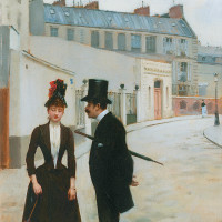 Jean Béraud: The Proposition or The Assignation in the Rue Chateaubriand, circa 1885