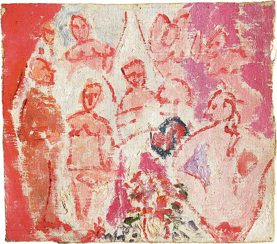 Pablo Picasso: Study for 'Les Demoiselles d'Avignon,' 1907