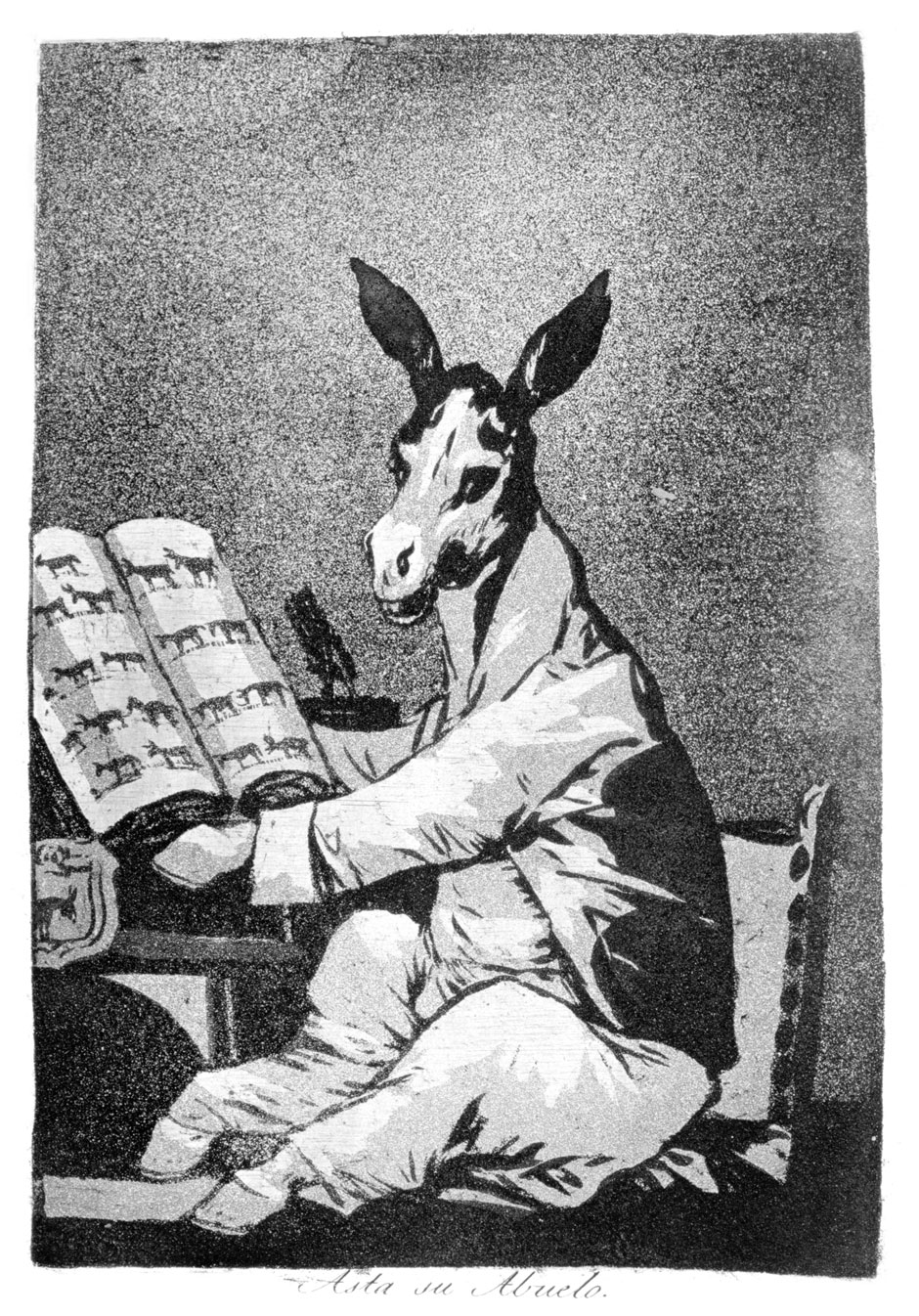 Francisco Goya: As Far back as his Grandfather, 1799