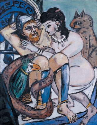 Max Beckmann: Odysseus and Calypso, 1943