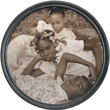 Carrie Mae Weems: May Flower, 2002; from 'The Memory of Time,' a recent exhibition at the National Gallery of Art, Washington, D.C. The catalog is by Sarah Greenough, Andrea Nelson, and others, and is published by the museum and Thames and Hudson.