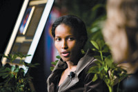 Ayaan Hirsi Ali at the Goldwater Institute, Phoenix, Arizona, December 2007