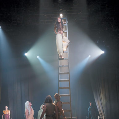 The cast of Yaël Farber's production of Oscar Wilde's Salomé