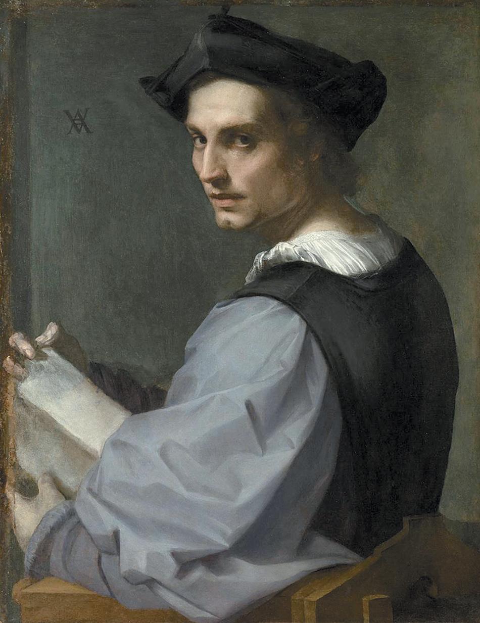 Andrea del Sarto: Portrait of a Young Man, circa 1517–1518