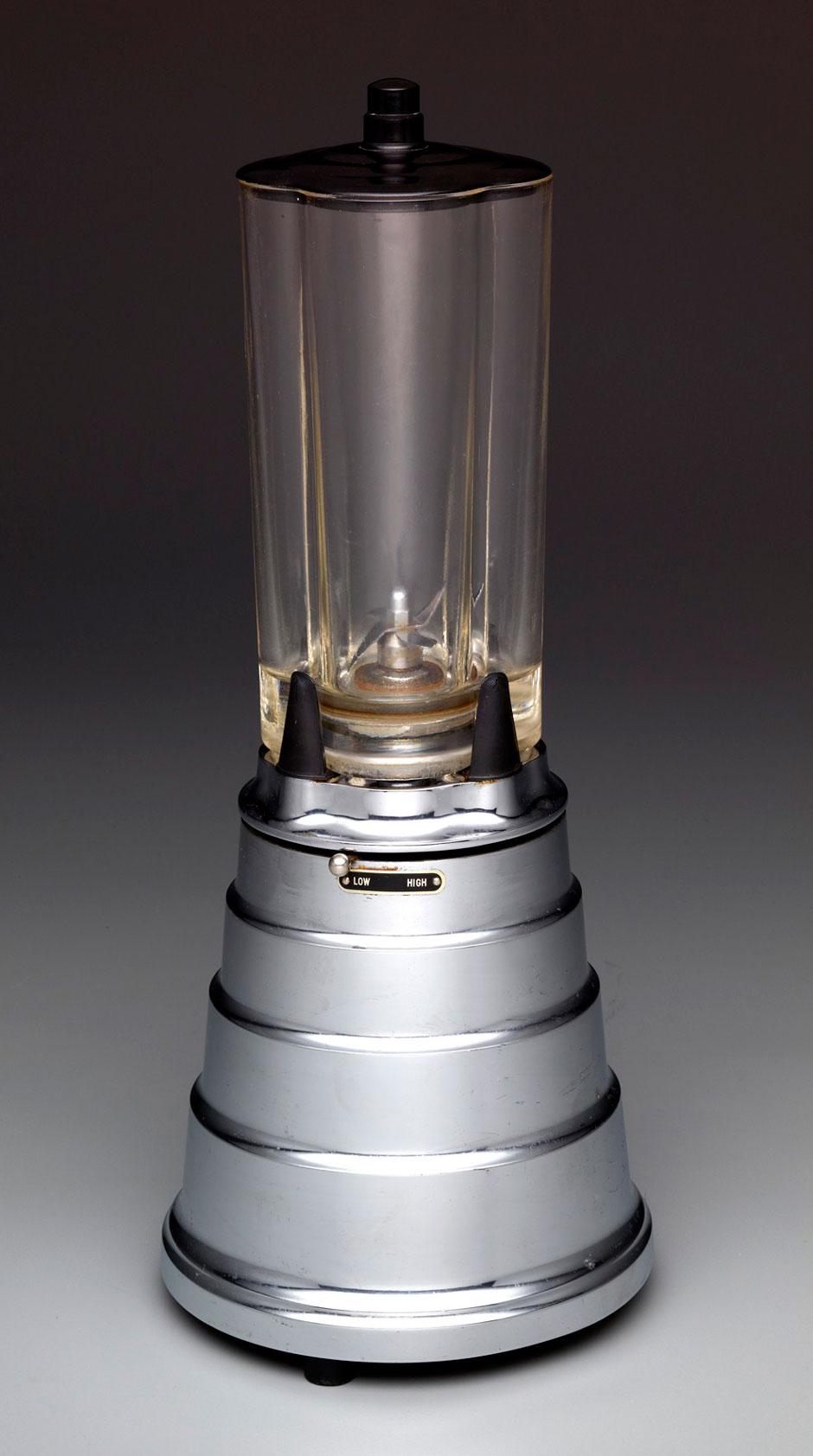 Waring Blendor, model B, designed by Peter Muller-Munk, 1937