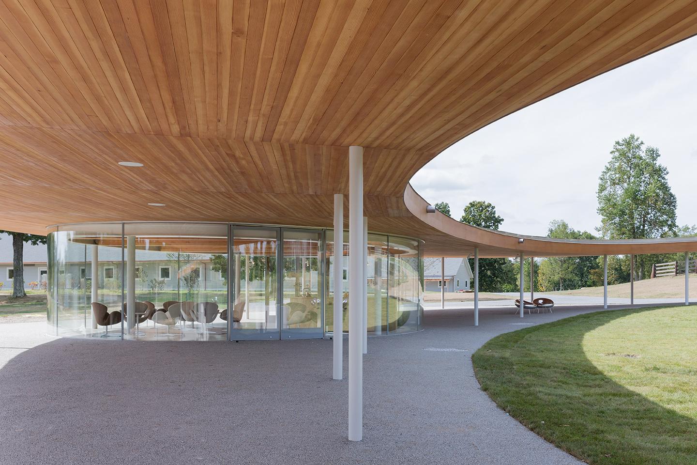 The River building Pavilion
