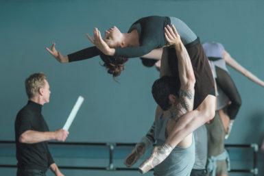 Sarah Hay and Sascha Radetsky in Flesh and Bone