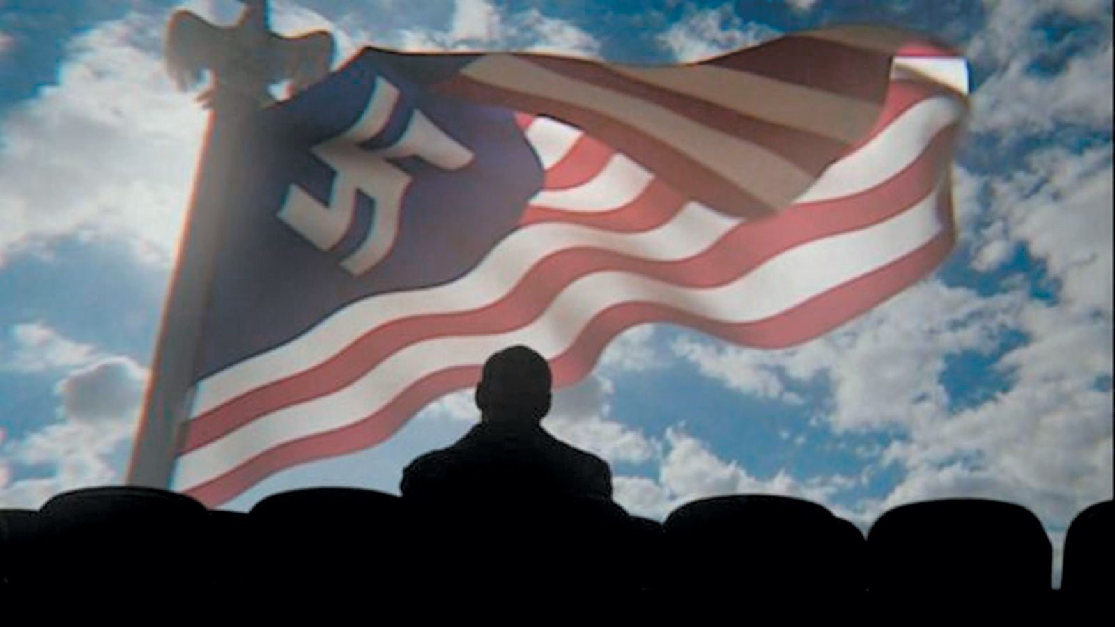 A propaganda newsreel for the Greater Nazi Reich in the first episode of The Man in the High Castle