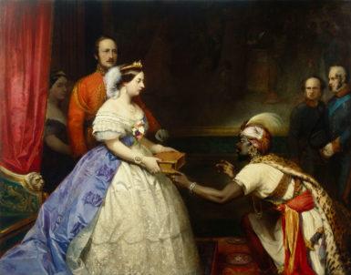 Thomas Barker: The Secret of England's Greatness, circa 1863