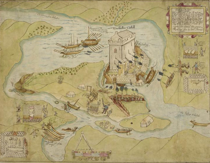 John Thomas: The Siege of Enniskillen, late sixteenth-century