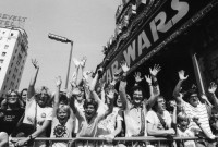 Opening day of George Lucas's Star Wars at Grauman's Chinese theater, May 25, 1977
