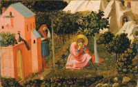 Fra Angelico: The Conversion of Saint Augustine, circa 1430s