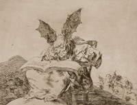 Francisco Goya: <em>Against Common Good</em>, 1810-1820