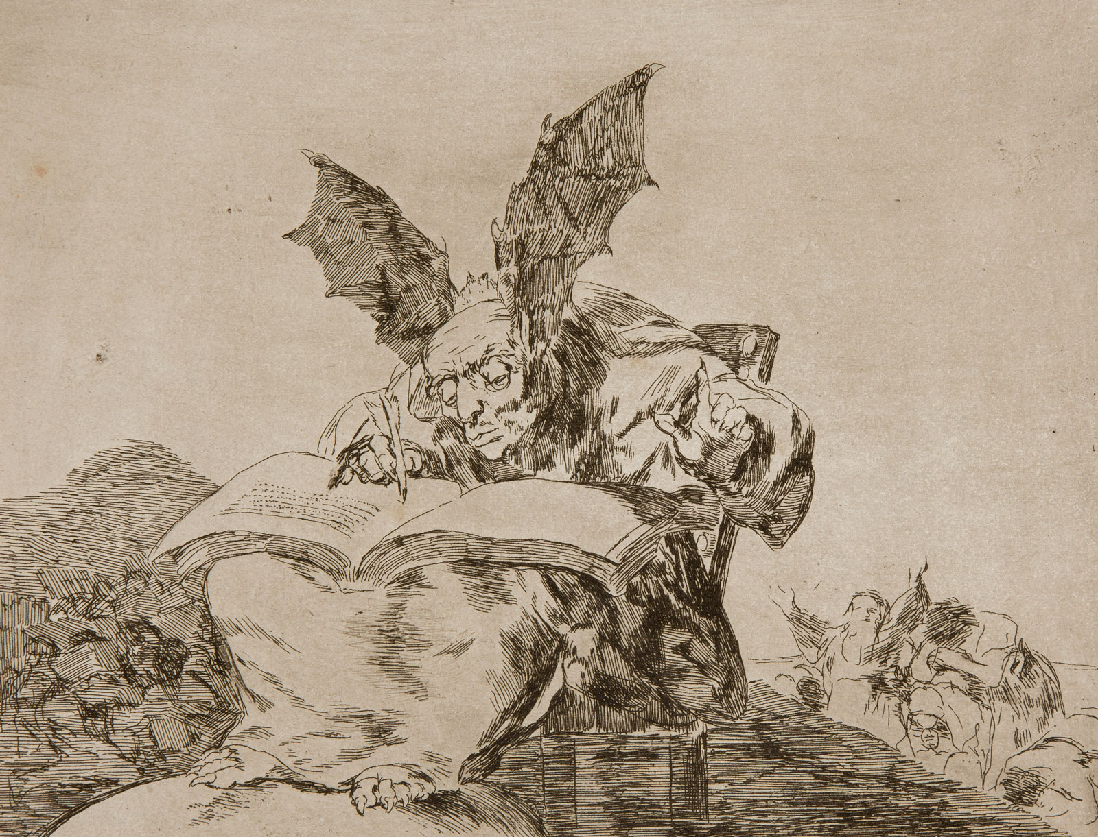 Francisco Goya: Against common good, 1810-1820