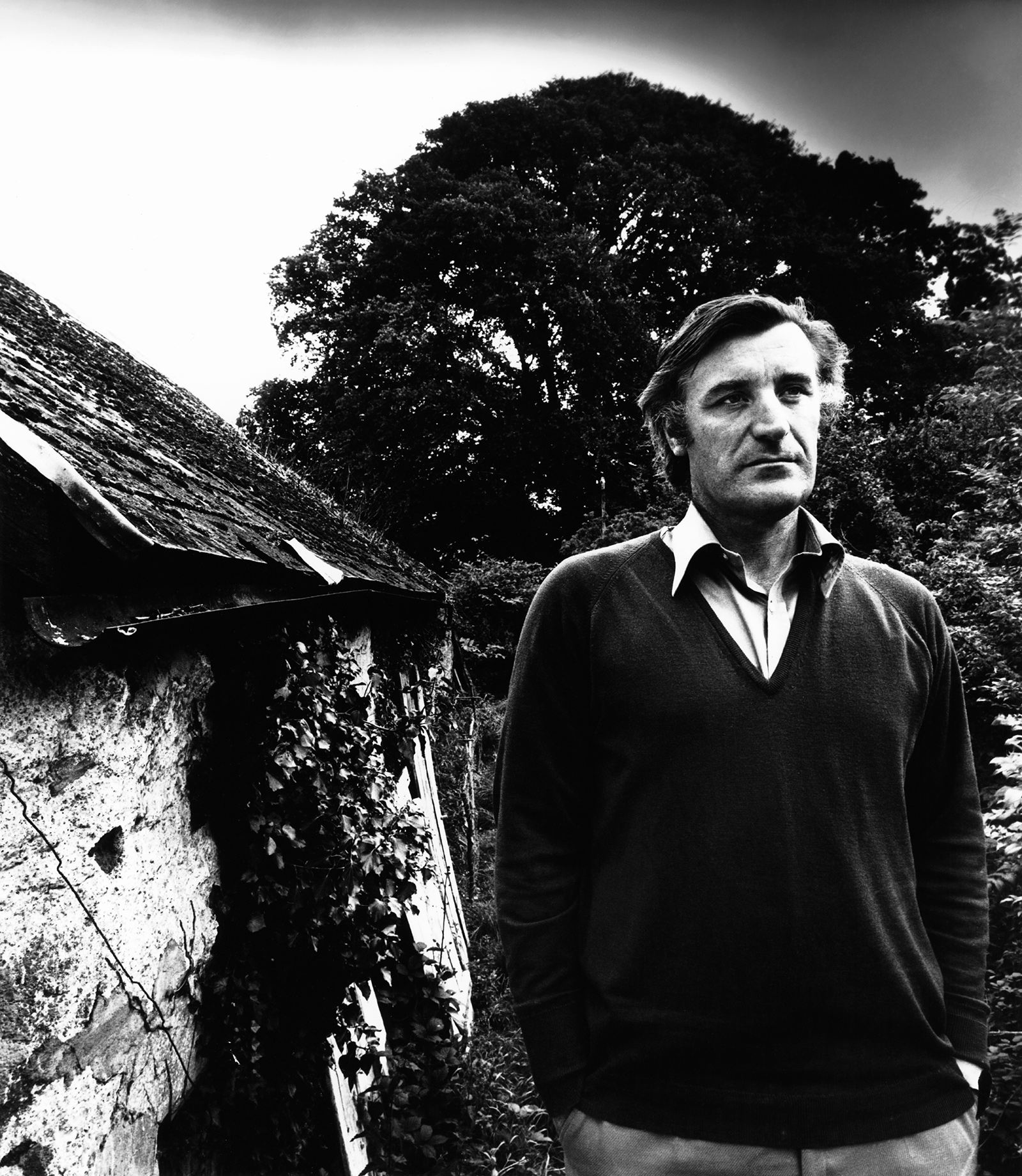 Ted Hughes, 1978; photograph by Bill Brandt
