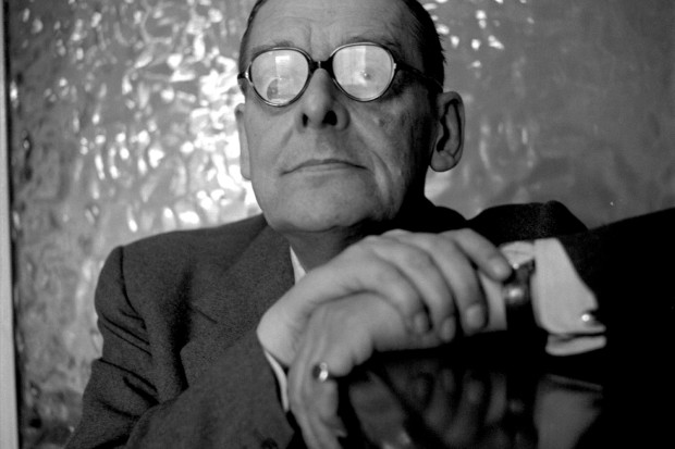 T. S. Eliot, 1956; photograph by Cecil Beaton from Mark Holborn's book <i>Beaton: Photographs</i>, just published by Abrams with an introduction by Annie Leibovitz
