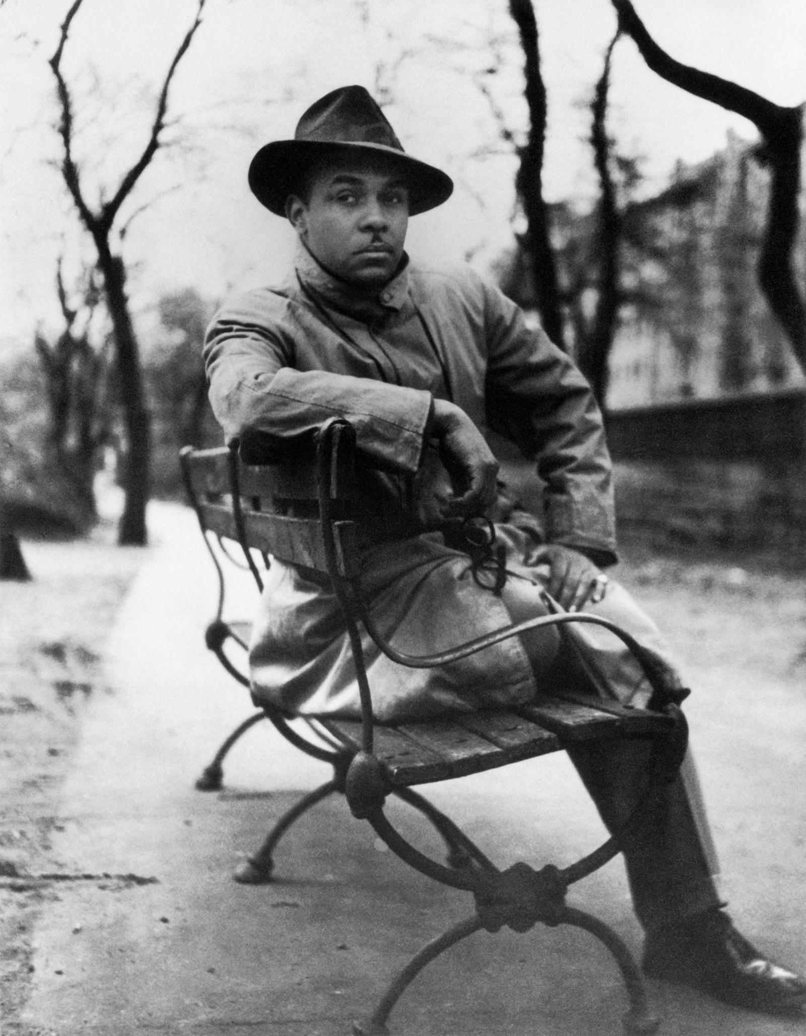 Ralph Ellison, Harlem, New York, 1947; photograph by Gordon Parks