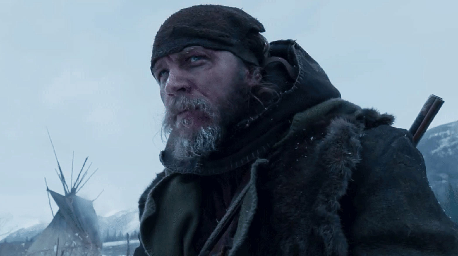 Tom Hardy as John Fitzgerald in Iñárritu's The Revenant, 2015