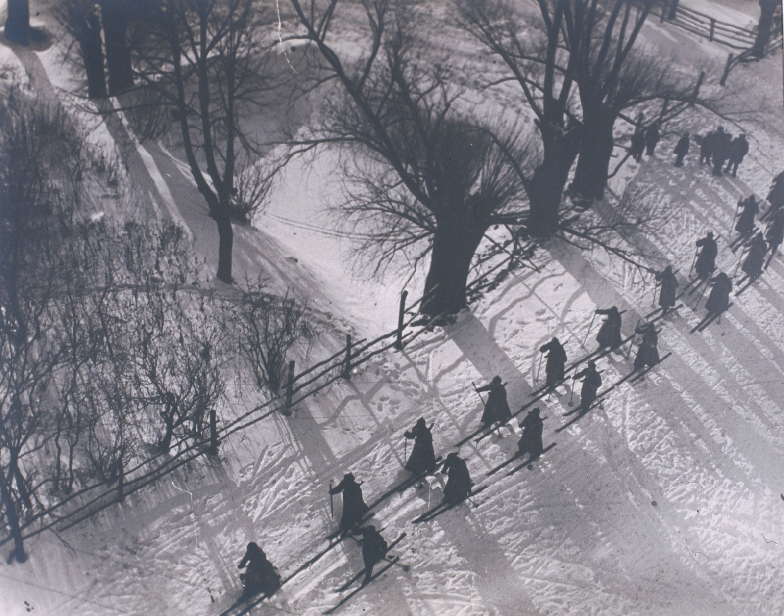 Arkady Shaikhet: Red Army Marching in the Snow, 1927–28