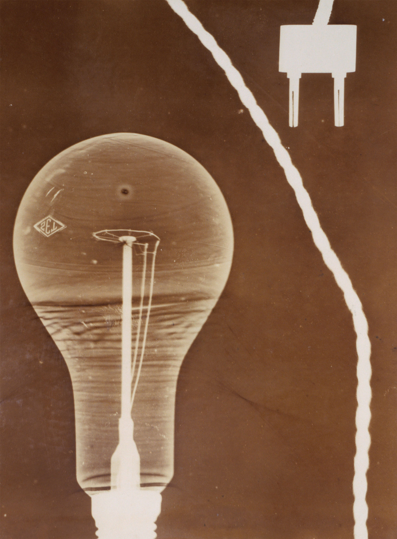Georgy Zimin: Still Life with Light Bulb, 1928-1930